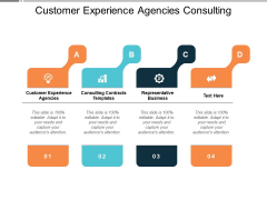 Customer Experience Agencies Consulting Contracts Templates Representative Business Ppt PowerPoint Presentation Summary Shapes