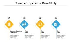 Customer Experience Case Study Ppt PowerPoint Presentation Infographic Template Model Cpb Pdf