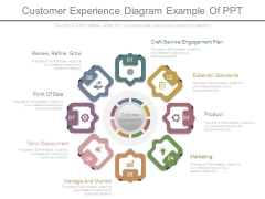 Customer Experience Diagram Example Of Ppt
