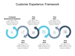 Customer Experience Framework Ppt PowerPoint Presentation Layouts Example Topics Cpb Pdf