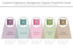 Customer Experience Management Diagram Powerpoint Guide