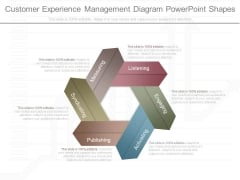 Customer Experience Management Diagram Powerpoint Shapes