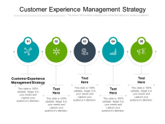 Customer Experience Management Strategy Ppt PowerPoint Presentation Gallery Graphics Cpb