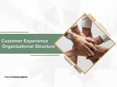 Customer Experience Organizational Structure Ppt PowerPoint Presentation Complete Deck With Slides