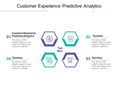 Customer Experience Predictive Analytics Ppt PowerPoint Presentation Inspiration Sample Cpb