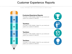 Customer Experience Reports Ppt PowerPoint Presentation Model Slides Cpb Pdf
