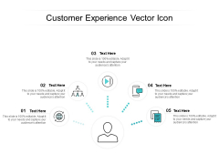Customer Experience Vector Icon Ppt PowerPoint Presentation Icon Infographic Template