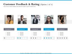 Customer Feedback And Rating Option Customer Portrait PDF