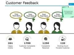 Customer Feedback Ppt PowerPoint Presentation File Guide