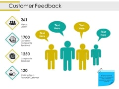 Customer Feedback Ppt PowerPoint Presentation Gallery Portfolio