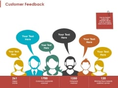 Customer Feedback Ppt PowerPoint Presentation Infographic Template Design Inspiration