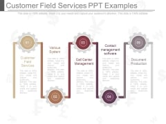 Customer Field Services Ppt Examples