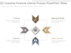 Customer Financial Internal Process Powerpoint Slides