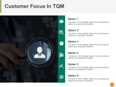 Customer Focus In Tqm Ppt PowerPoint Presentation Ideas Portrait