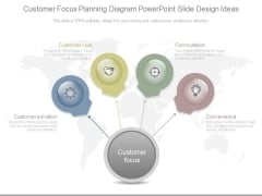 Customer Focus Planning Diagram Powerpoint Slide Design Ideas