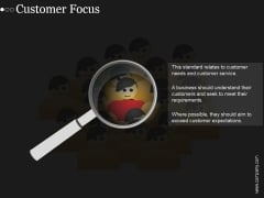 Customer Focus Ppt PowerPoint Presentation Outline
