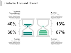Customer Focused Content Ppt Powerpoint Presentation Portfolio Background Image Cpb