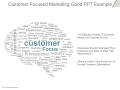 Customer Focused Marketing Ppt PowerPoint Presentation Ideas