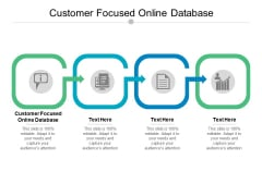 Customer Focused Online Database Ppt PowerPoint Presentation Styles Information Cpb
