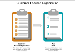 Customer Focused Organization Ppt PowerPoint Presentation Inspiration Show Cpb