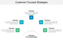 Customer Focused Strategies Ppt PowerPoint Presentation Layouts Model Cpb
