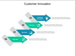 Customer Innovation Ppt PowerPoint Presentation Inspiration Cpb