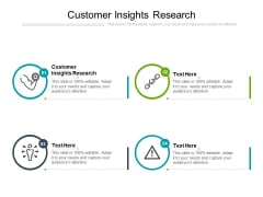 Customer Insights Research Ppt PowerPoint Presentation Inspiration Templates Cpb