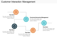 Customer Interaction Management Ppt PowerPoint Presentation Ideas Files Cpb