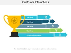 Customer Interactions Ppt PowerPoint Presentation Inspiration Ideas Cpb