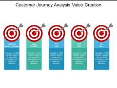 Customer Journey Analysis Value Creation Ppt PowerPoint Presentation Layouts Example Topics