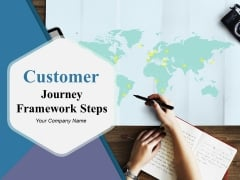 Customer Journey Framework Steps Ppt PowerPoint Presentation Complete Deck With Slides