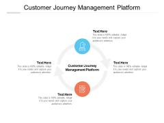 Customer Journey Management Platform Ppt PowerPoint Presentation Outline Layouts Cpb