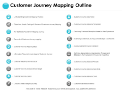 Customer Journey Mapping Outline Ppt PowerPoint Presentation Infographic Template Good