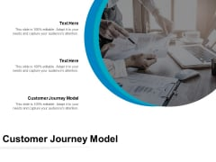 Customer Journey Model Ppt PowerPoint Presentation Gallery Images Cpb