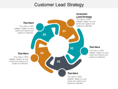 Customer Lead Strategy Ppt PowerPoint Presentation Gallery Background Image Cpb