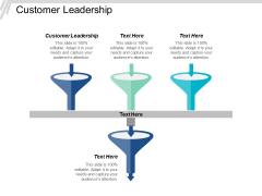 Customer Leadership Ppt PowerPoint Presentation Slides Icons Cpb