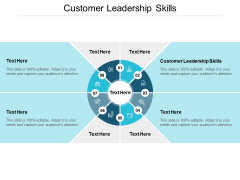 Customer Leadership Skills Ppt PowerPoint Presentation Templates Cpb
