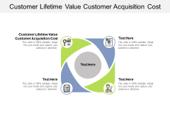 Customer Lifetime Value Customer Acquisition Cost Ppt PowerPoint Presentation Professional Background Cpb