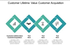 Customer Lifetime Value Customer Acquisition Ppt PowerPoint Presentation Icon Gallery Cpb