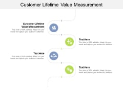 Customer Lifetime Value Measurement Ppt PowerPoint Presentation Ideas Model Cpb