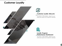 Customer Loyalty Business Ppt Powerpoint Presentation Icon Brochure