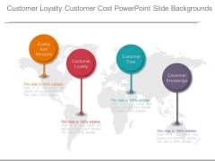 Customer Loyalty Customer Cost Powerpoint Slide Backgrounds