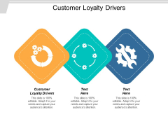 Customer Loyalty Drivers Ppt PowerPoint Presentation Layouts Slideshow Cpb