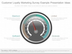 Customer Loyalty Marketing Survey Example Presentation Ideas