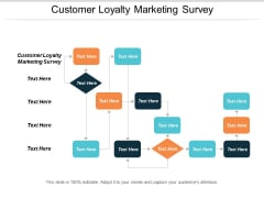 Customer Loyalty Marketing Survey Ppt Powerpoint Presentation Outline Aids Cpb