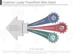 Customer Loyalty Powerpoint Slide Clipart