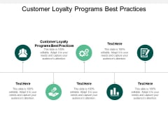 Customer Loyalty Programs Best Practices Ppt PowerPoint Presentation Styles Diagrams Cpb