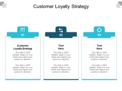 Customer Loyalty Strategy Ppt PowerPoint Presentation Summary Good Cpb