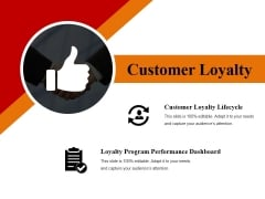 customer loyalty template 1 ppt powerpoint presentation infographic template summary