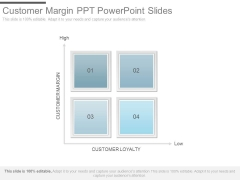 Customer Margin Ppt Powerpoint Slides